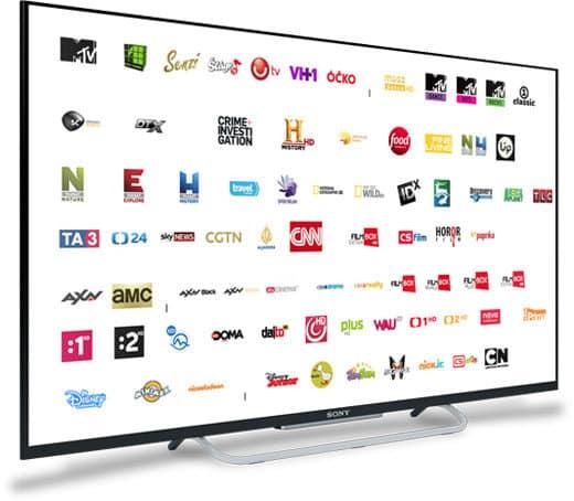 Satelitná televízia všade na slovensku